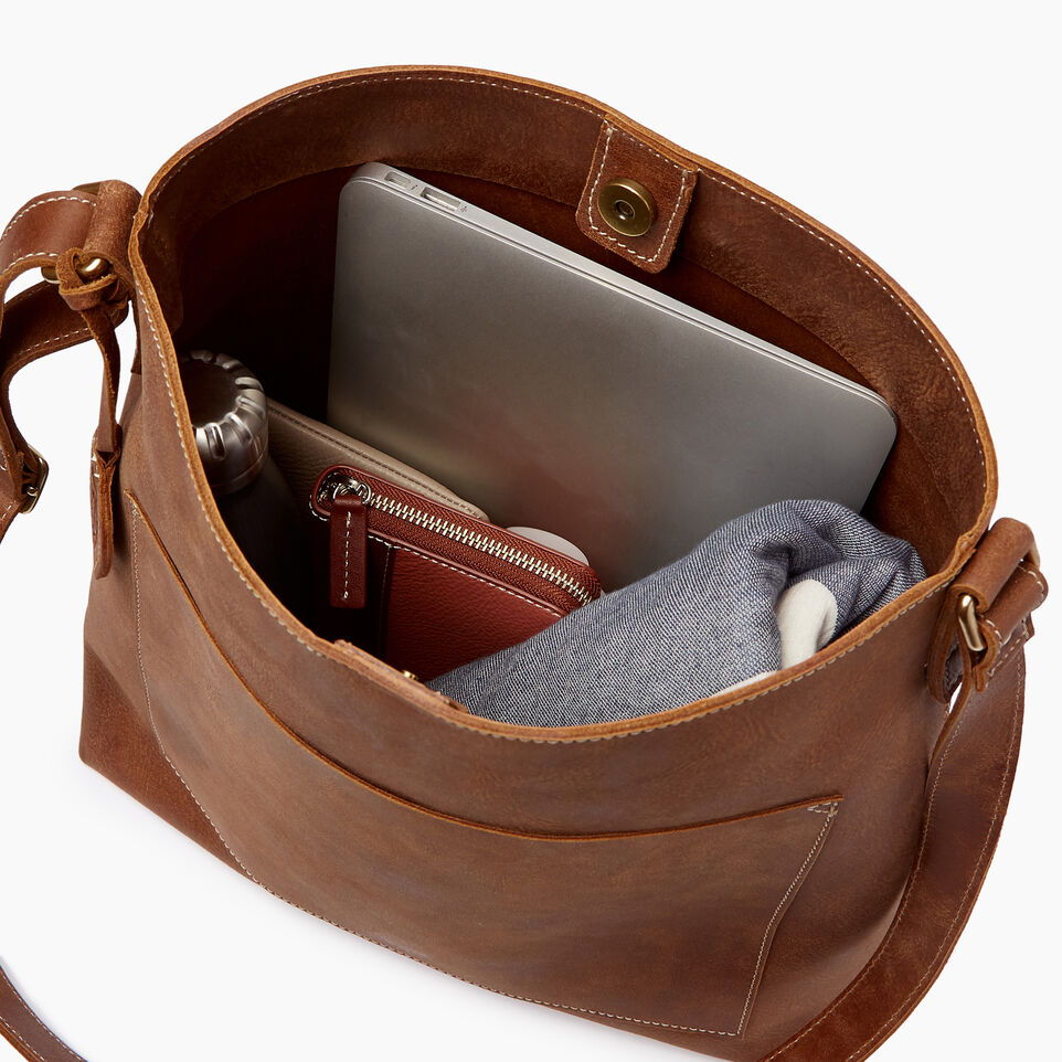 Roots-Leather Handbags-Rideau Bag-Natural-D