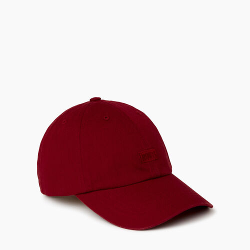 Roots-Women Categories-Elliston Baseball Cap-Red-A