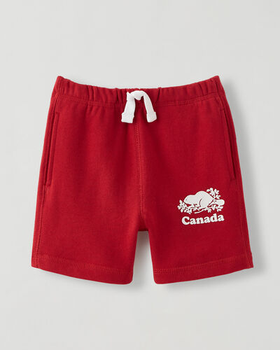 Roots-Shorts Toddler-Toddler Canada Short-Sage Red-A