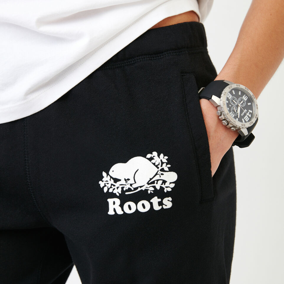 Roots-Women Categories-Original Longer Sweatshort-Black-E