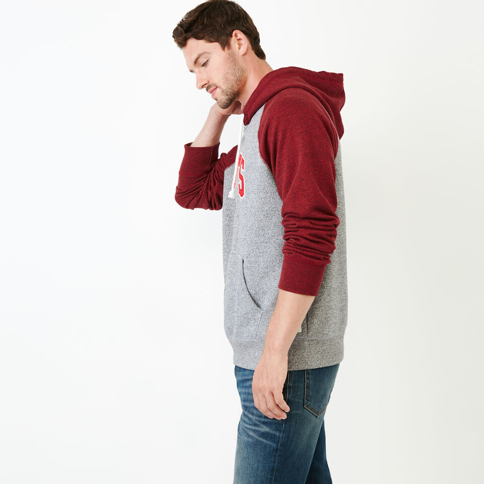 Roots-Men Our Favourite New Arrivals-Nova Scotia Block Hoody-Sage Red Pepper-C