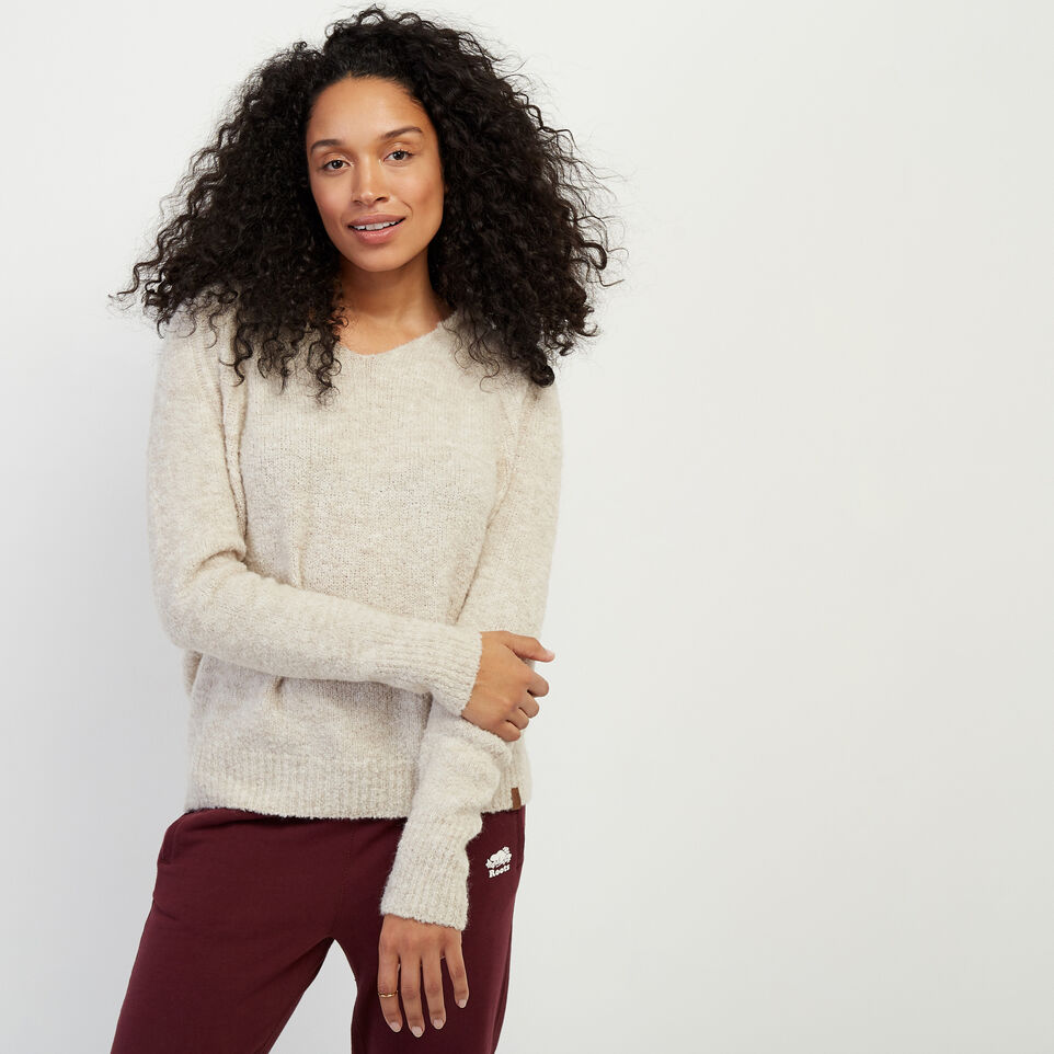 Roots-Women Sweaters & Cardigans-Beach Comber Sweater Hoody-Wind Chime Mix-A