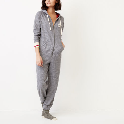 Roots-New For November The Roots Cabin Collection™-Roots Cabin Onesie-Salt & Pepper-A