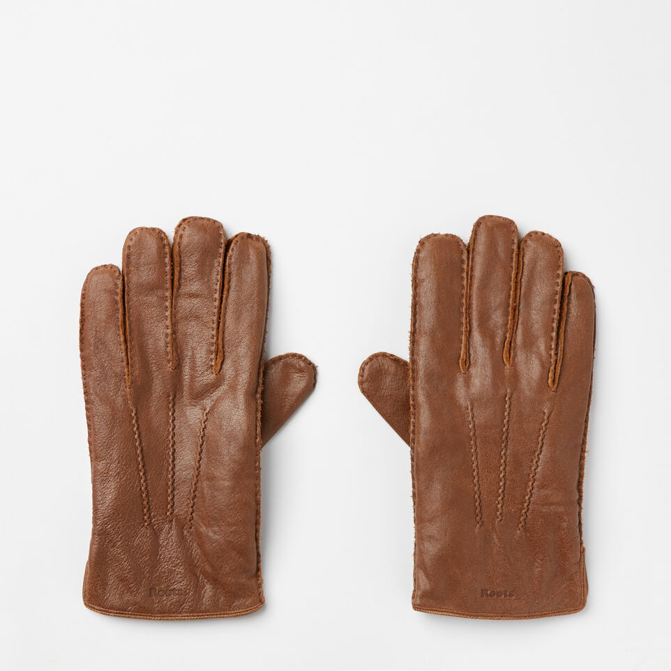Roots-undefined-Mens Deerskin Glove-undefined-A