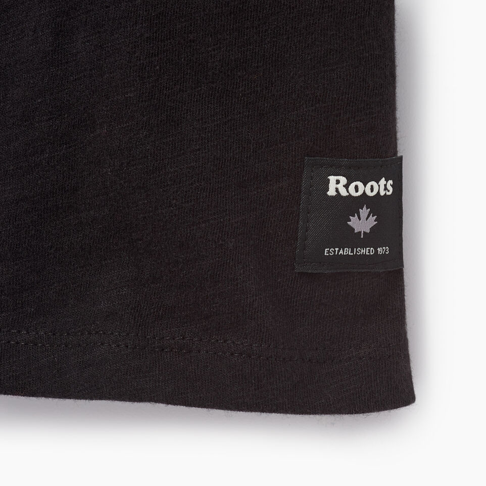 Roots-Women Clothing-Cooper Beaver Muscle Tank-Black-C