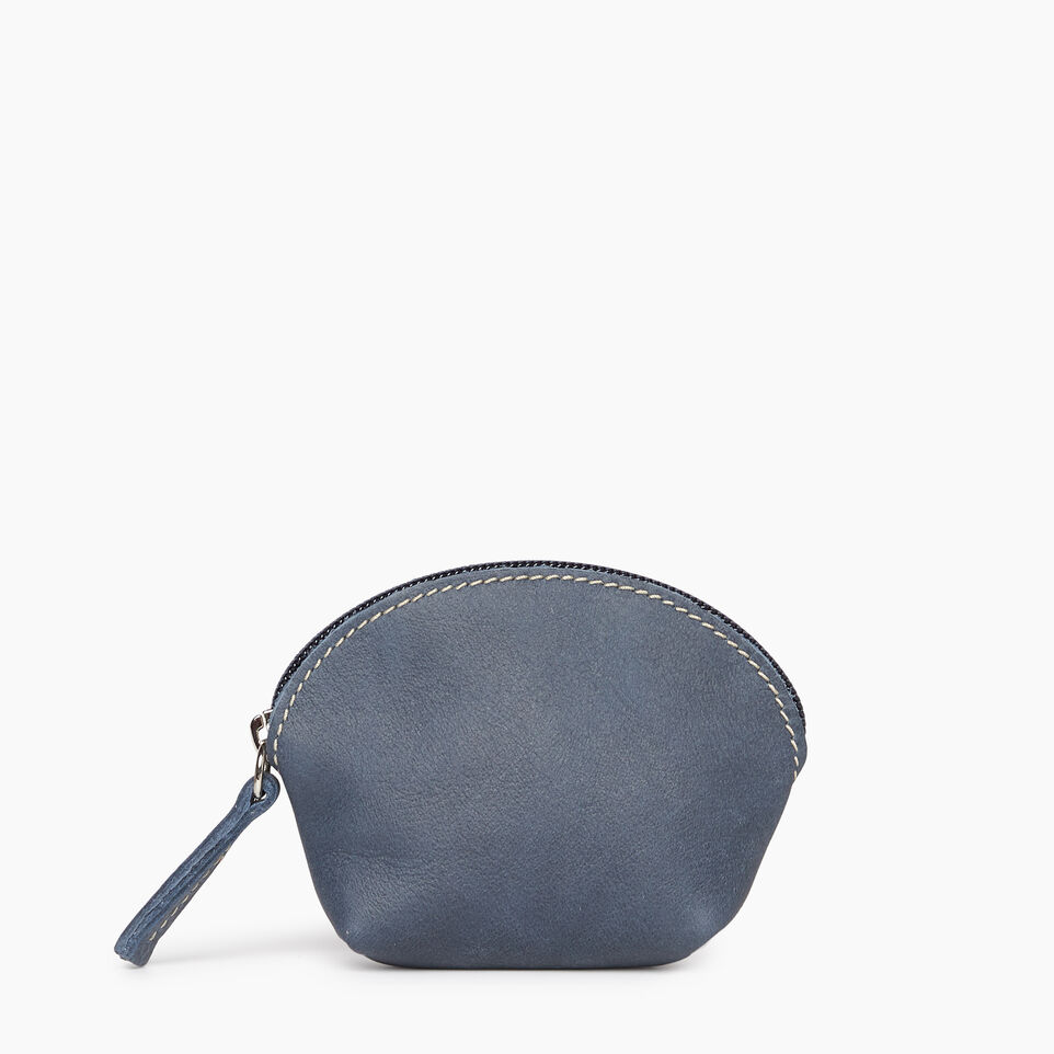 Roots-Leather New Arrivals-Small Euro Pouch-Navy-A