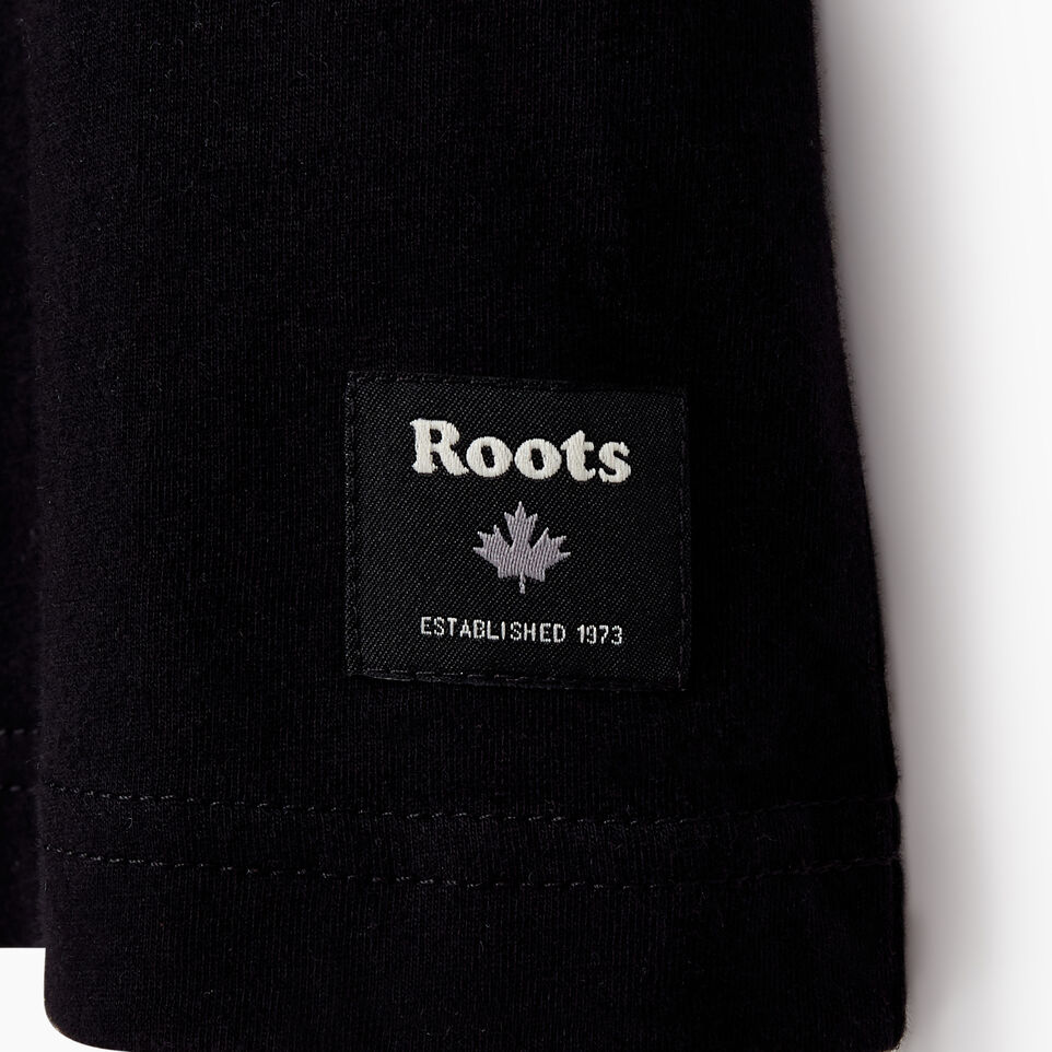 Roots-undefined-Mens Roots Label T-shirt-undefined-E