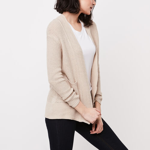 Roots-Sale Over 40% Off-Cascade Cardigan-Natural-A