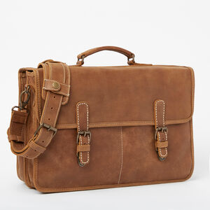 Roots-Leather Briefcases & Messengers-Roots Original Briefcase Tribe-Africa-A