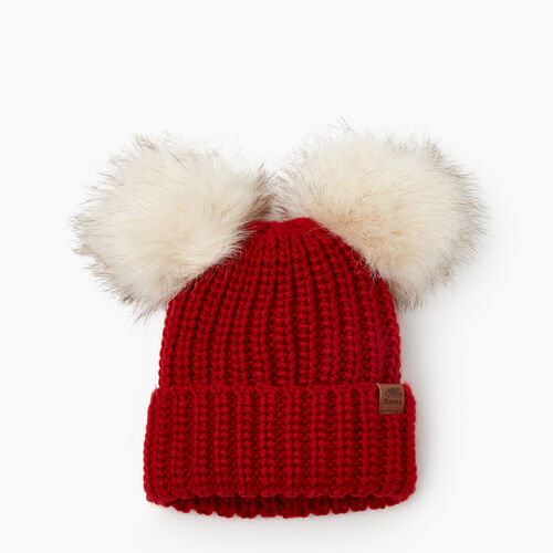 Roots-Kids Toddler Girls-Toddler Girl Olivia Toque-Cabin Red-A