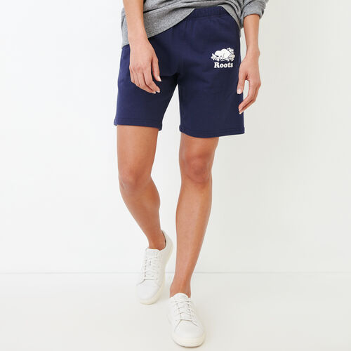 Roots-New For March Sweats-Original Longer Sweatshort-Eclipse-A