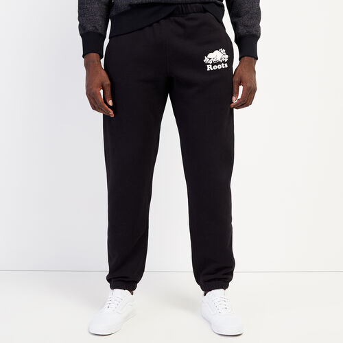 Roots-Men Bottoms-Original Sweatpant - Tall-Black-A
