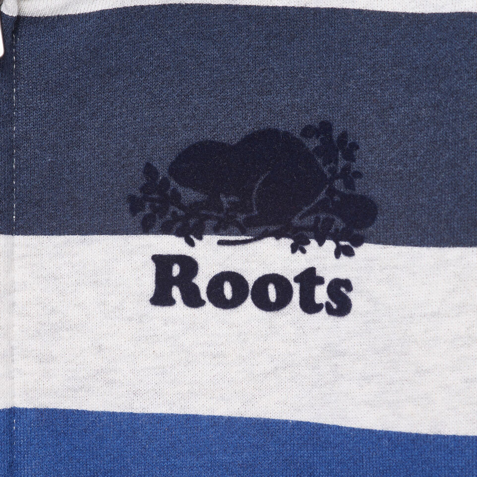 Roots-Kids Our Favourite New Arrivals-Boys Ombre Stripe Full Zip Hoody-White Mix-D