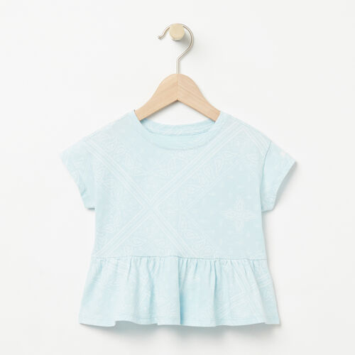 Roots-Sale Baby-Baby Open Air Top-Chambray Blue-A
