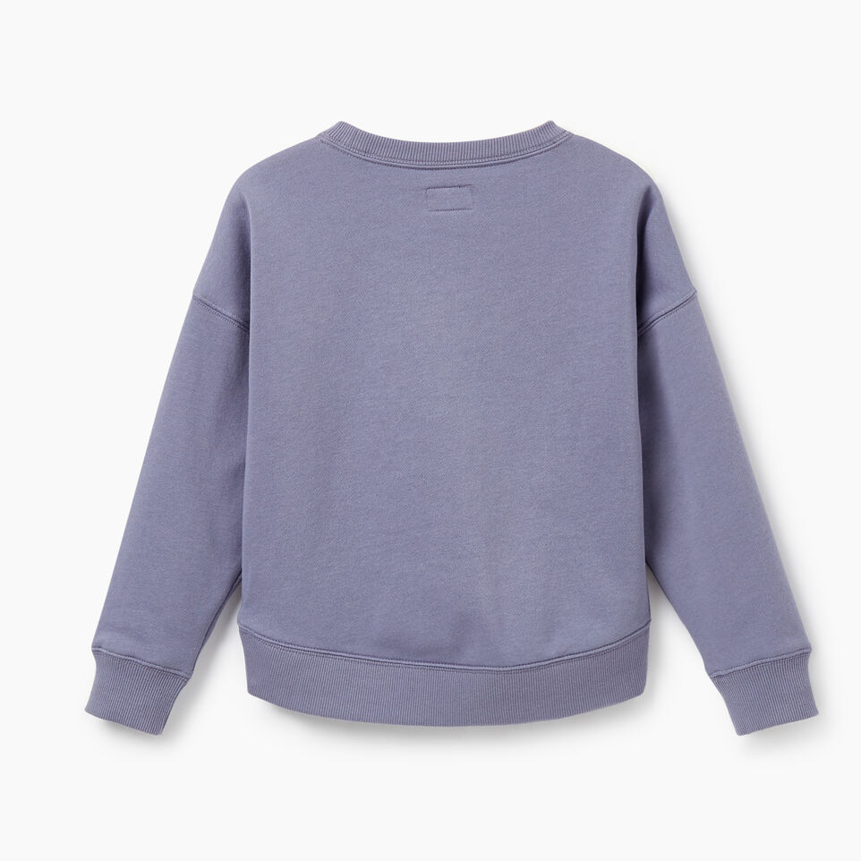 Roots-Kids New Arrivals-Girls RBA Crew-Purple-C