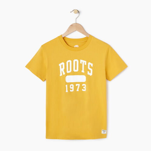 Roots-Women Our Favourite New Arrivals-Womens Block 1973 Canada T-shirt-Medallion-A
