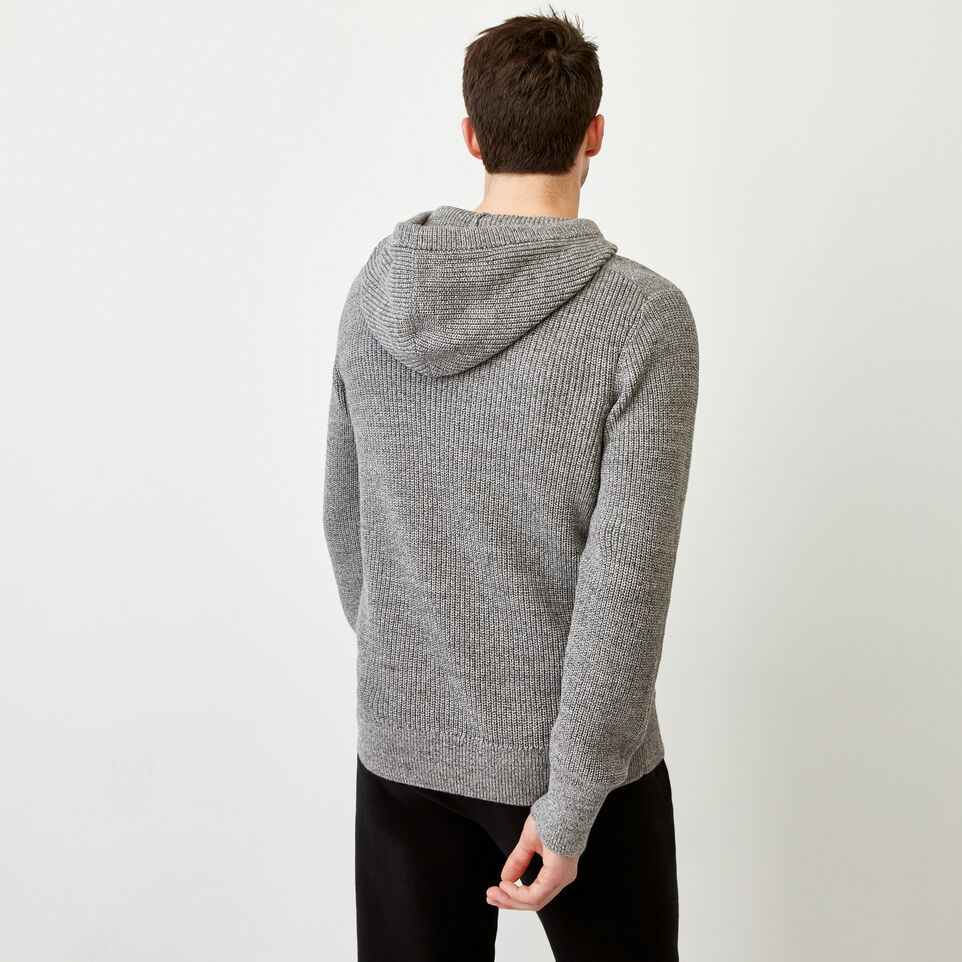 Roots-Men Our Favourite New Arrivals-Baffin Shaker Hoody-Sharkskin Mix-D