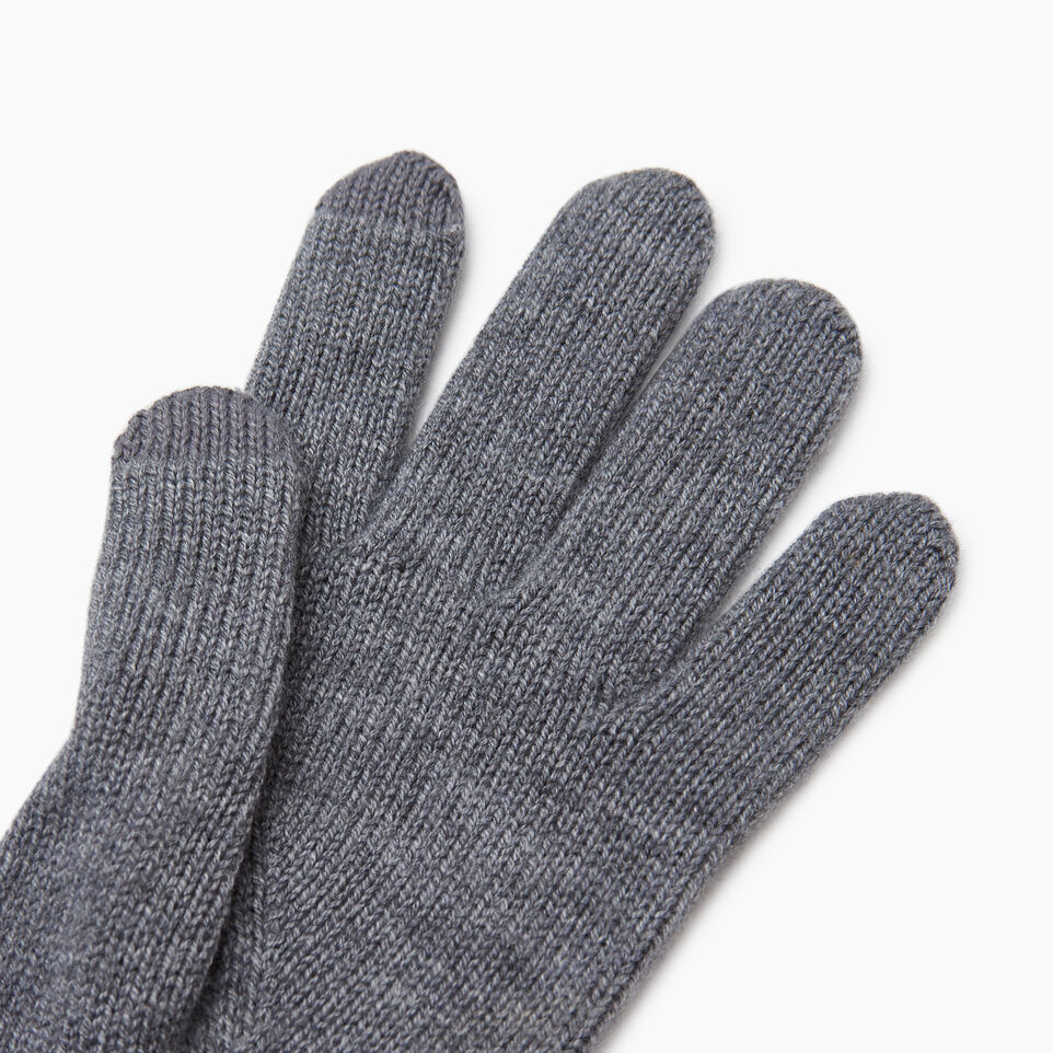 Roots-Women Categories-Robson Texting Glove-Grey Mix-C