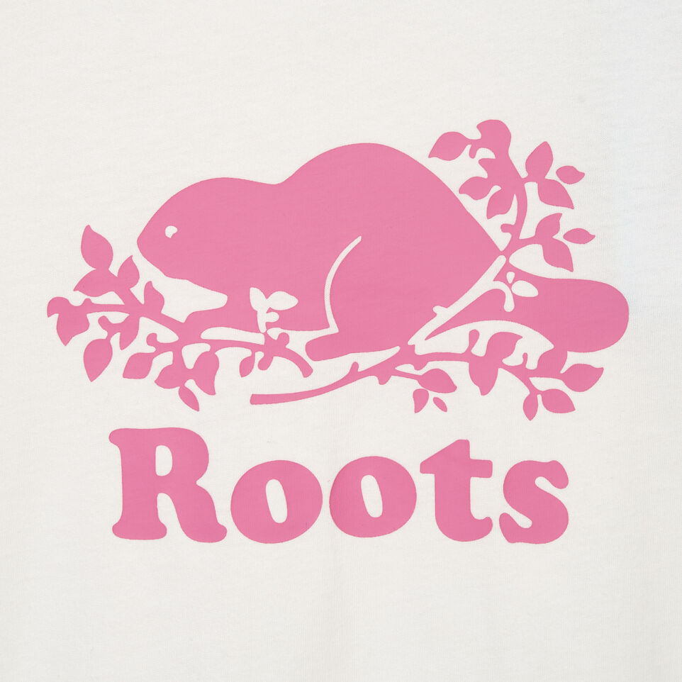 Roots-undefined-Girls Original Cooper Beaver T-shirt-undefined-C