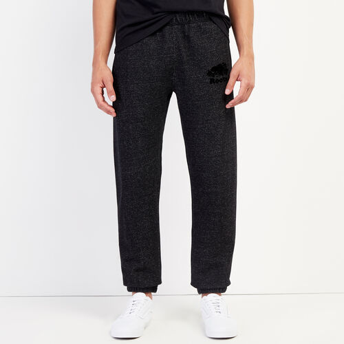 Roots-Men Bottoms-Original Sweatpant-Black Pepper-A