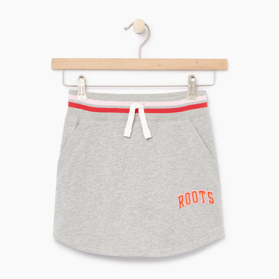 Roots-undefined-Girls Roots Varsity Skirt-undefined-A