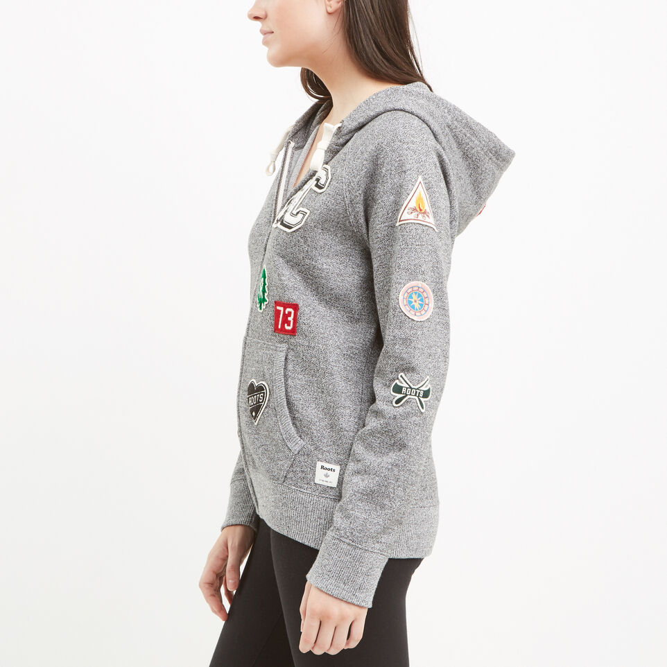 Roots-undefined-Camp Patches Full Zip Hoody-undefined-B