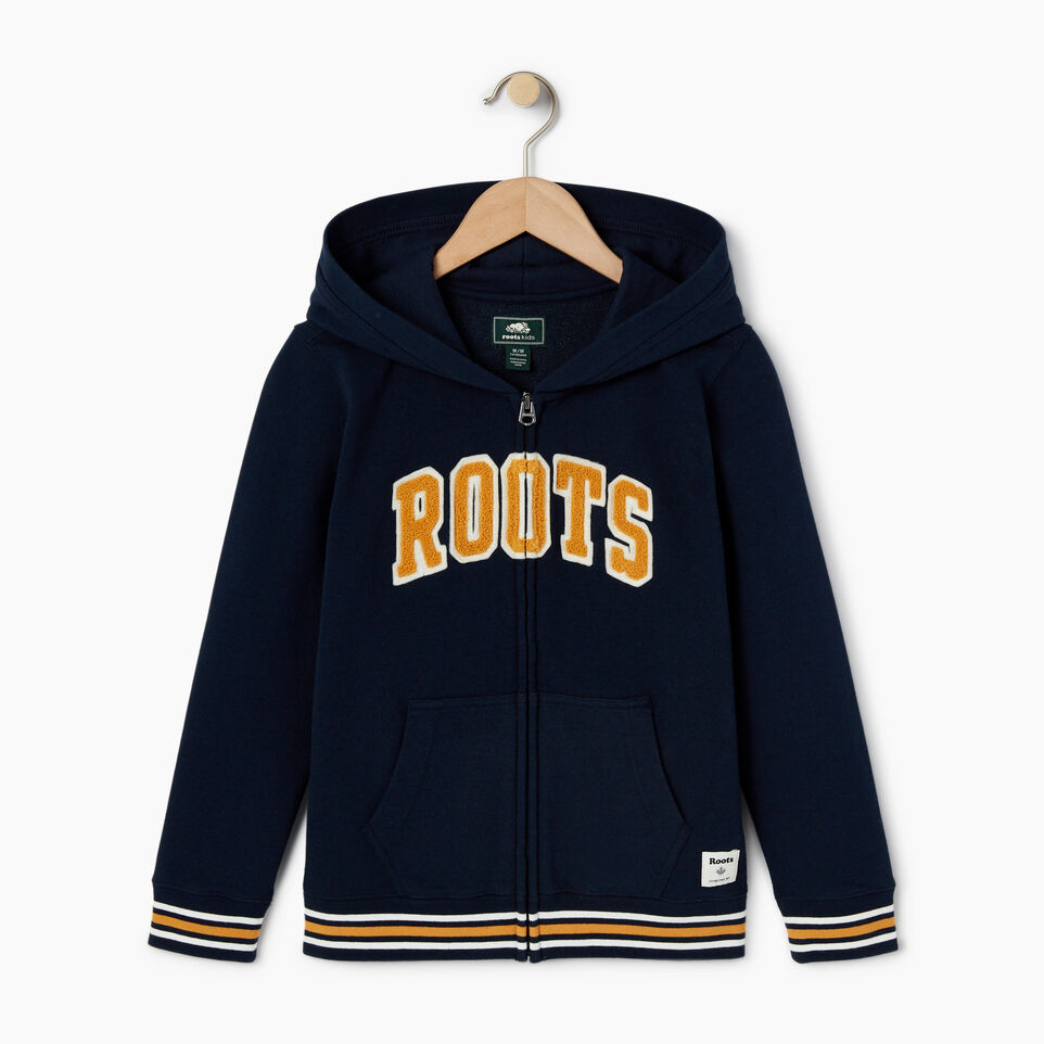 Roots-undefined-Boys Roots Varsity Full Zip Hoody-undefined-A