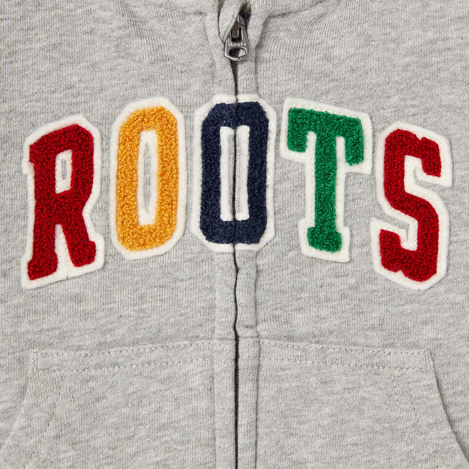 Roots-undefined-Baby Roots Varsity Full Zip Hoody-undefined-C