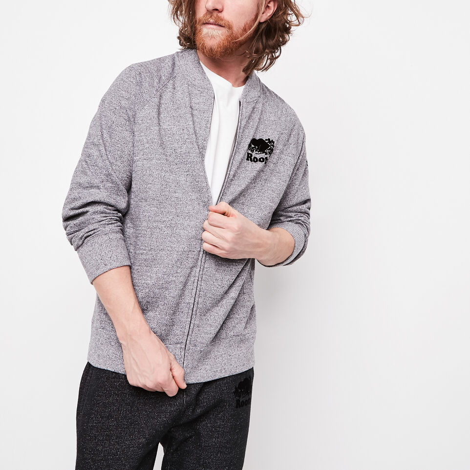 Roots-undefined-Roots Salt and Pepper Track Jacket-undefined-A