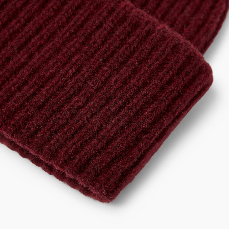 Roots-Clearance Women-Granville Toque-Crimson-D