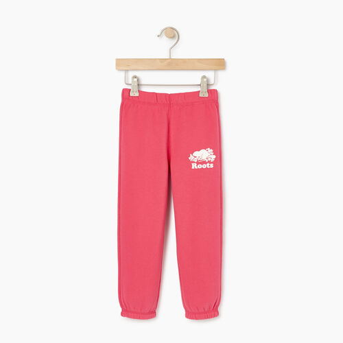 Roots-Kids Our Favourite New Arrivals-Toddler Original Roots Sweatpant-Pink Flambã‰-A