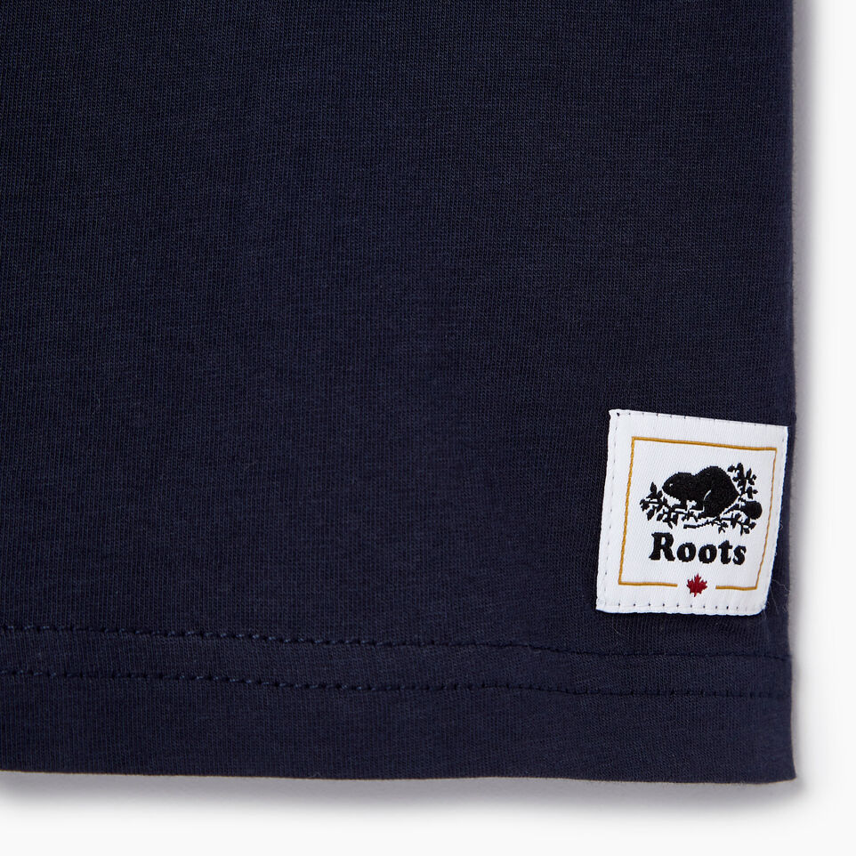Roots-Kids Our Favourite New Arrivals-Toddler Cooper Canada Ringer T-shirt-Navy Blazer-C