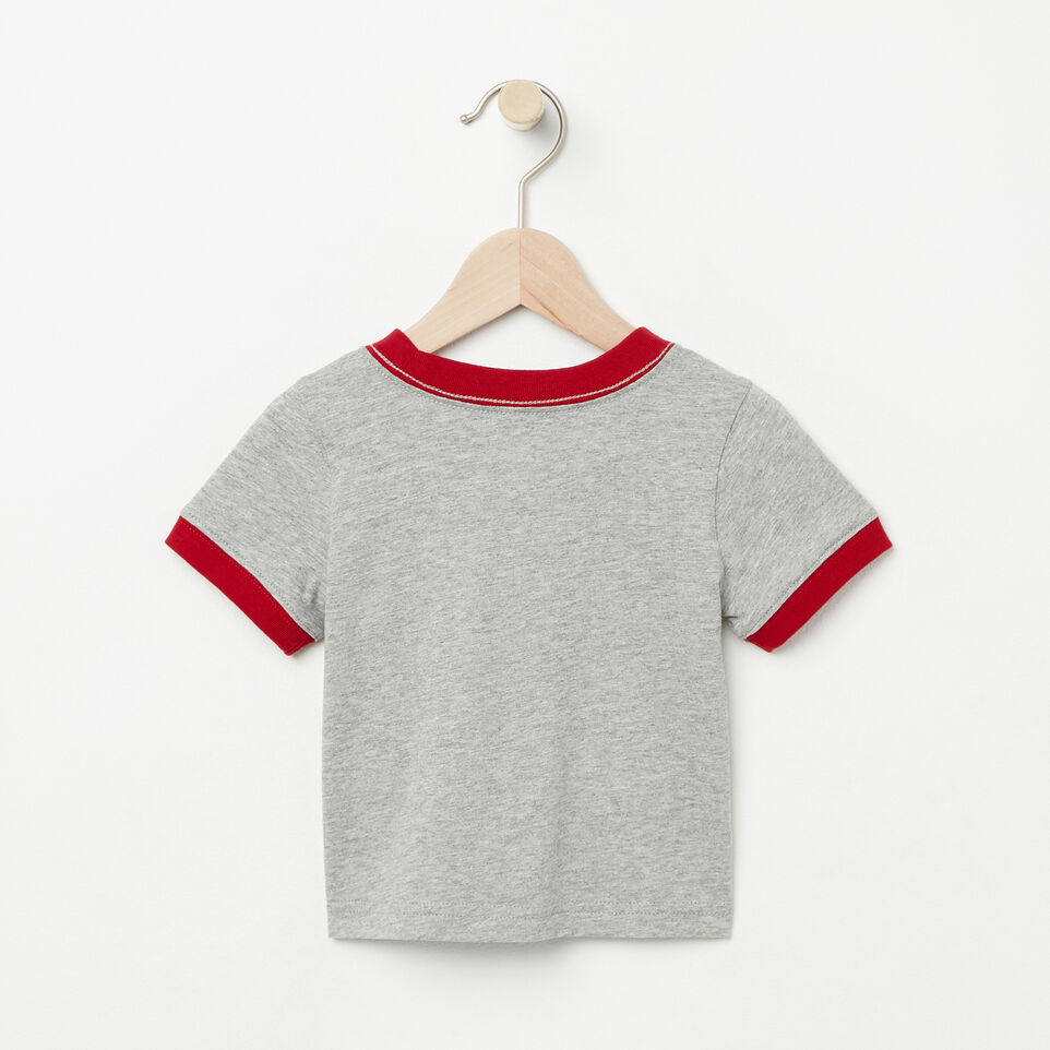 Roots-undefined-Baby Cooper Canada Ringer T-shirt-undefined-B
