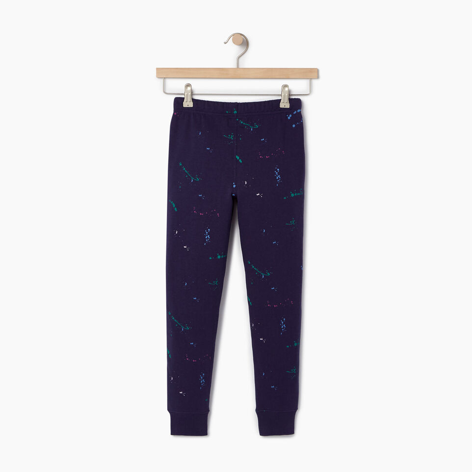 Roots-Kids Our Favourite New Arrivals-Girls Splatter Sweatpant-Eclipse-B