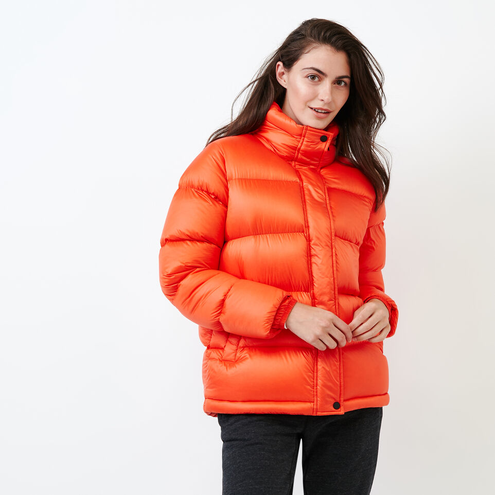 Roots-Sale Women-Faber Lake Parka-Spicy Orange-A