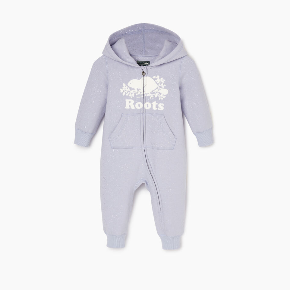 Roots-undefined-Baby Sparkle Cozy Fleece Romper-undefined-A