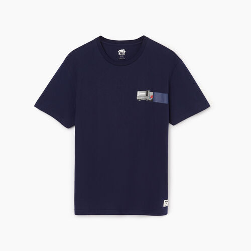 Roots-Men Our Favourite New Arrivals-Mens Centre Ice T-shirt-Starnight Blue-A