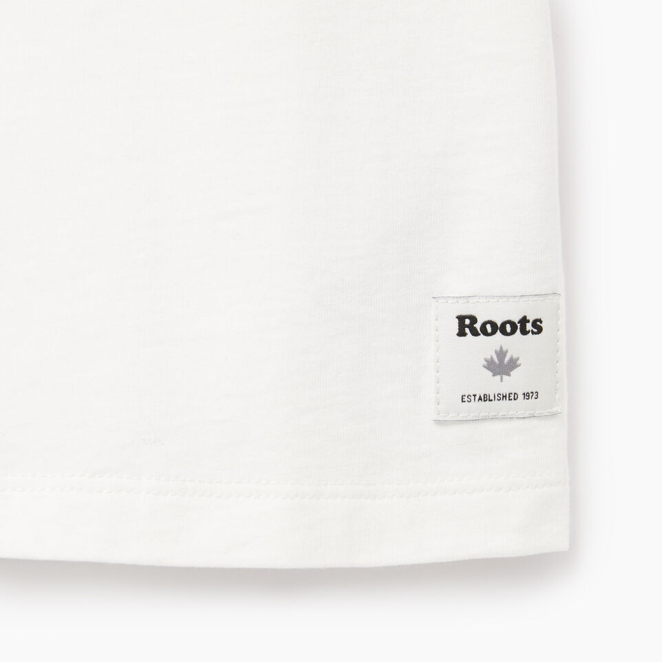 Roots-Kids Our Favourite New Arrivals-Girls Moonbeam T-shirt-Ivory-C