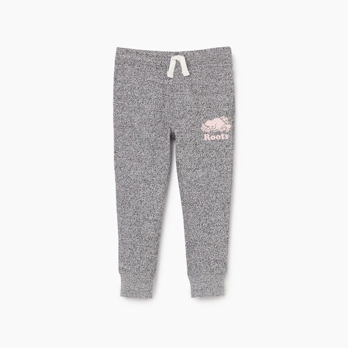 Roots-Kids New Arrivals-Toddler Slim Cuff Sweatpant-Salt & Pepper-A