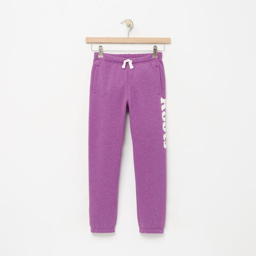 Roots-Winter Sale Kids-Girls Roots Remix Sweatpant-Wood Violet Mix-A