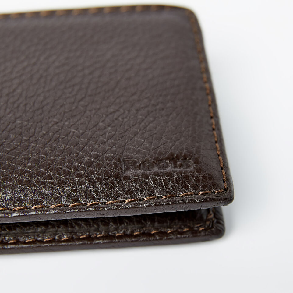 Roots-undefined-Mens Slimfold Wallet With Side Flap Prince-undefined-D
