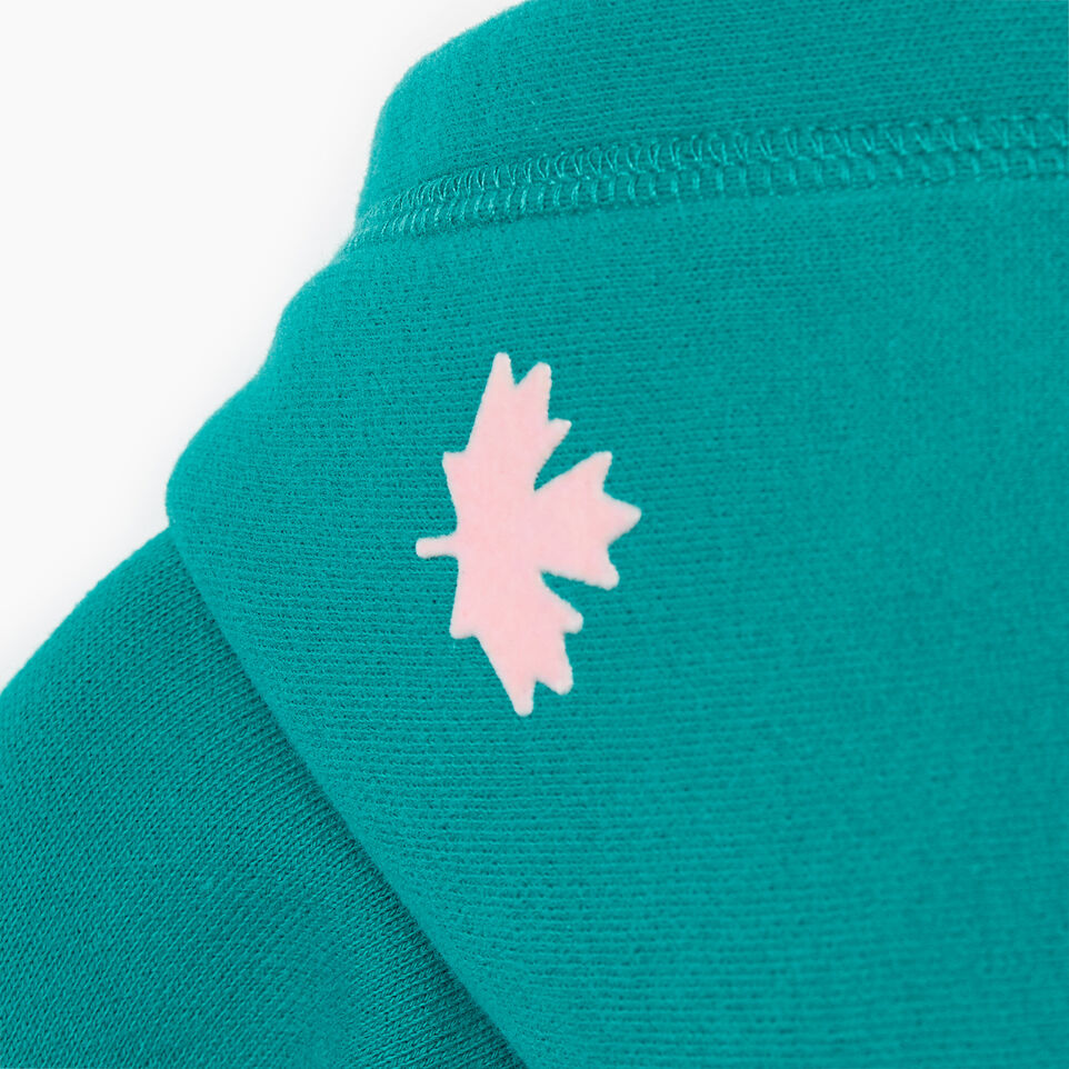 Roots-Sale Kids-Baby Original Full Zip Hoody-Dynasty Turquoise-E