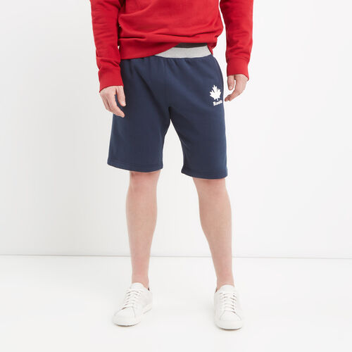 Roots-Men Shorts-Canada Cabin Shorts-Cascade Blue-A