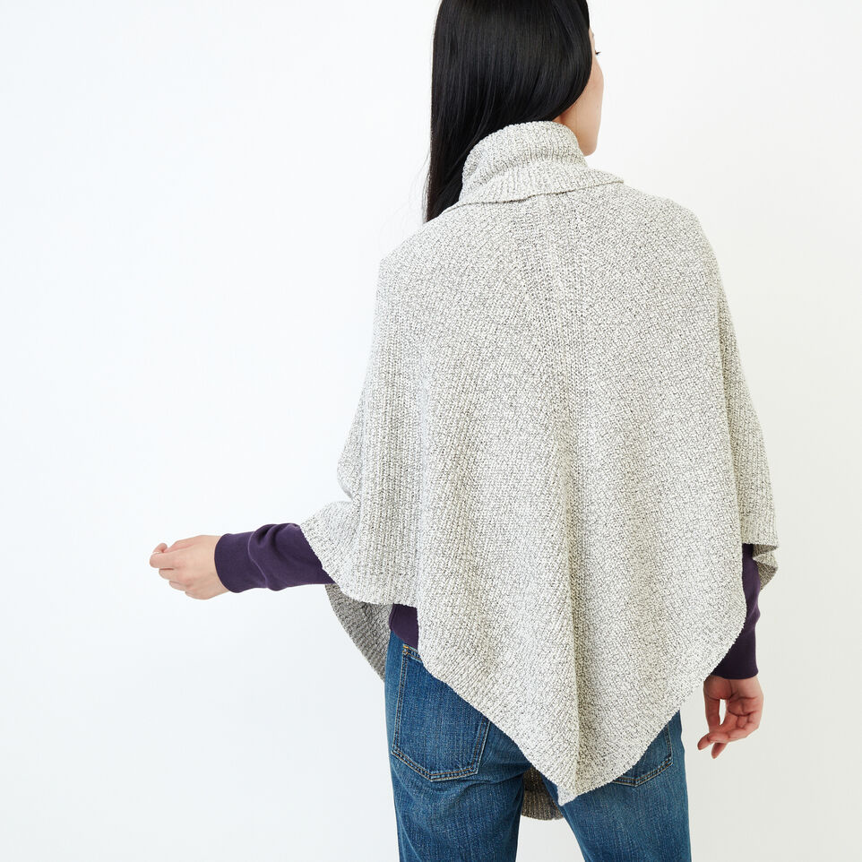 Roots-undefined-Snowy Fox Poncho-undefined-D