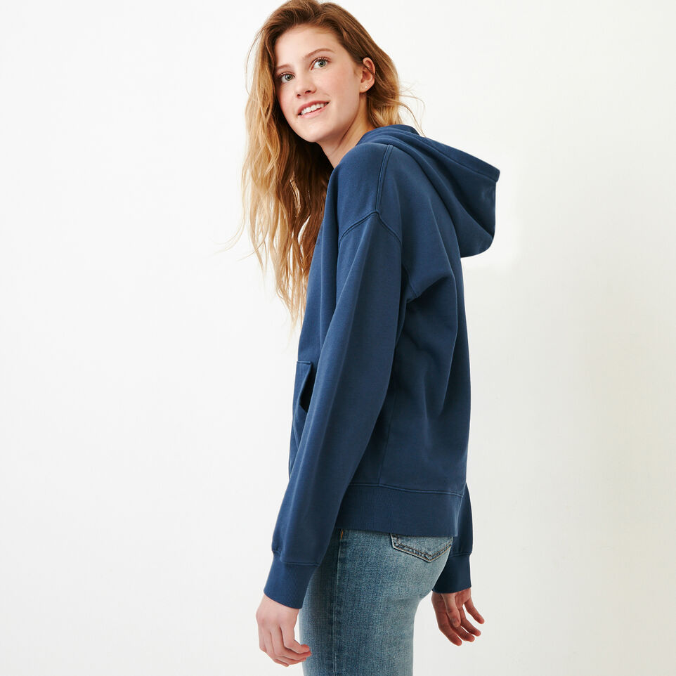 Roots-Women Our Favourite New Arrivals-Kelowna Full Zip Hoody-Sargasso Sea-C