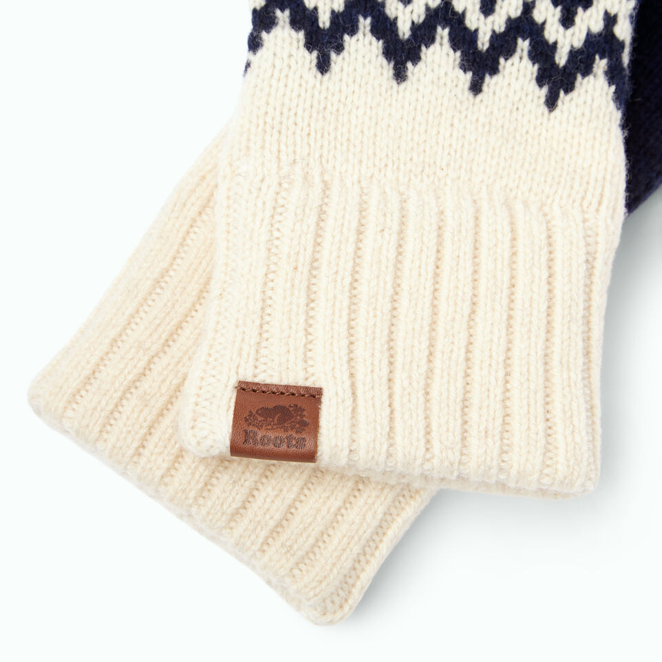 Roots-Women Our Favourite New Arrivals-Tundra Fair Isle Mitt-Multi-B