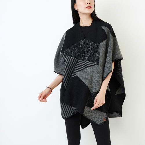 Roots-Women Our Favourite New Arrivals-Revelstoke Wrap-Medium Grey Mix-A