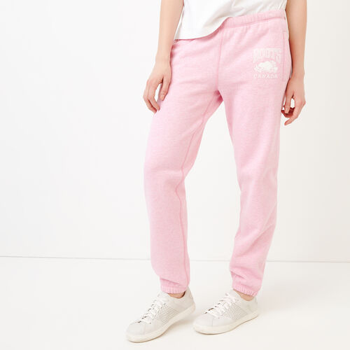 Roots-Women Categories-Classic Boyfriend Sweatpant-Fuchsia Mix-A
