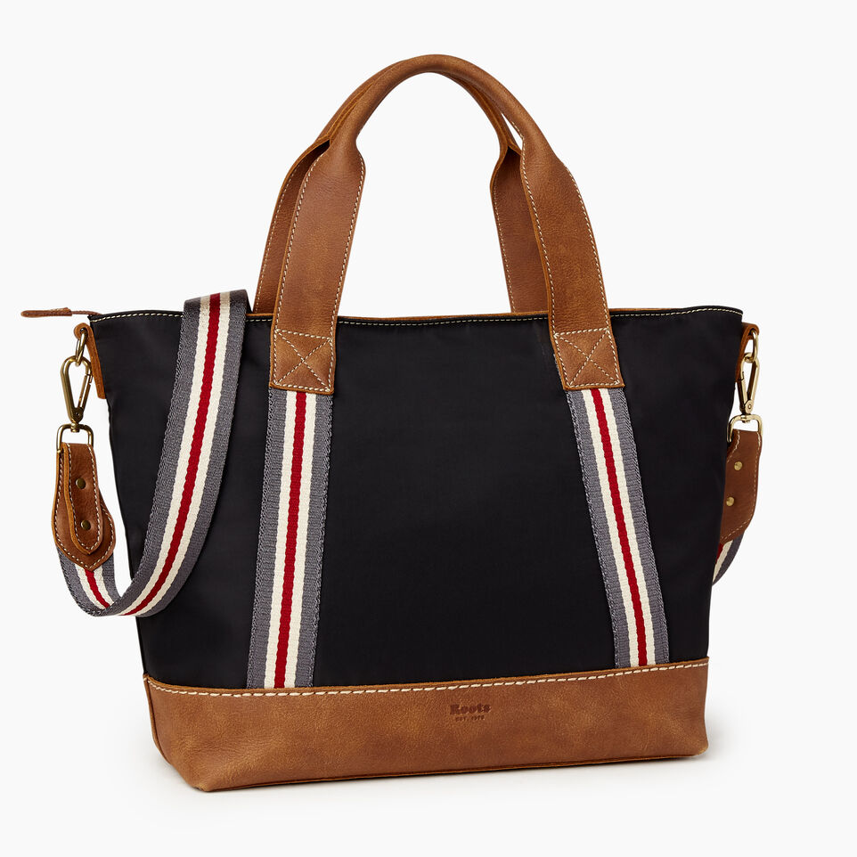 Roots-Leather New Arrivals-Smoke Lake Tote-Black-A