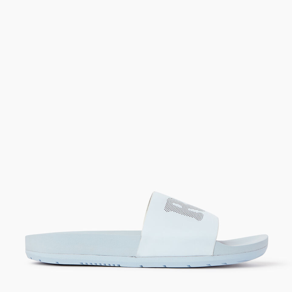 Roots-Footwear Our Favourite New Arrivals-Womens Long Beach Pool Slide-Baby Blue-A